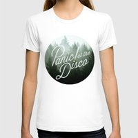 panic at the disco T-shirts featuring Panic! at the disco round trees (not transparent) by Van de nacht