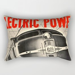 Electric Power Rectangular Pillow