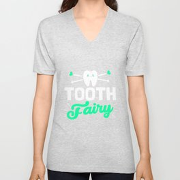 Dentist Kids Tooth Fairy Unisex V-Neck