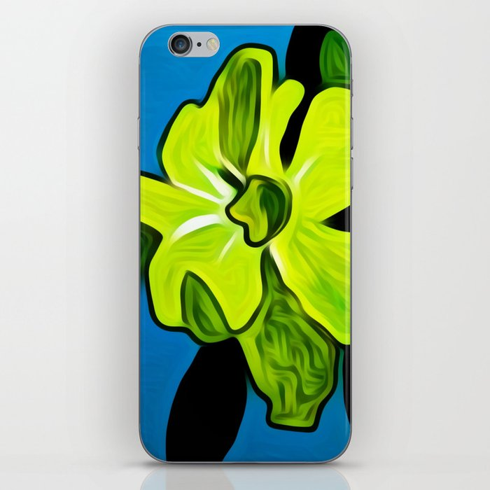 Yellow Flower in Melbourne Florida iPhone Skin