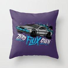 Zero Flux Given Throw Pillow