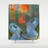 sia Shower Curtains featuring A new start by Ganech joe