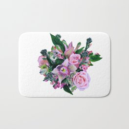 Flower ball Bath Mat