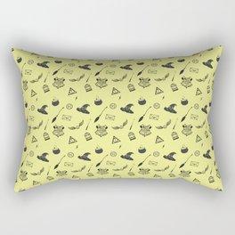 Hufflepuff Pattern Rectangular Pillow