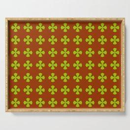 Leaf clover 4 Serving Tray