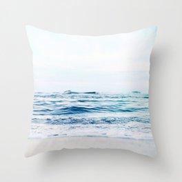 Calm Waves Throw Pillow