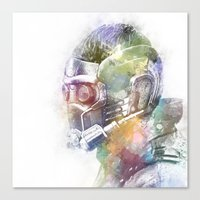star lord Canvas Prints featuring Star-Lord by NKlein Design