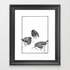 Burial Framed Art Print