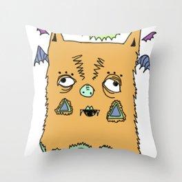 Murciélago#4 Throw Pillow