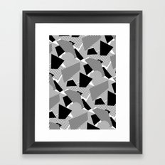 Little Mess Framed Art Print