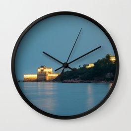 Old dragon`s head (2:3 ratio) Wall Clock