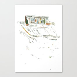king of the allotments Canvas Print