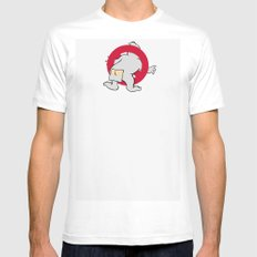 Ain't afraid of no cold! White Mens Fitted Tee MEDIUM