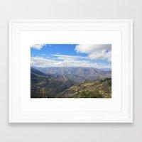 peru Framed Art Prints featuring Peru by Jamie Gowers