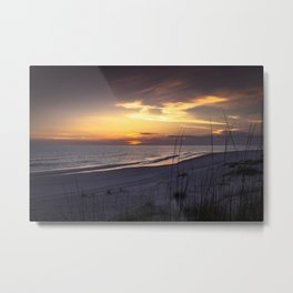Cape San Blas Sunset  Metal Print