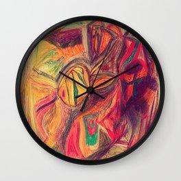 Fish in the Pan Wall Clock