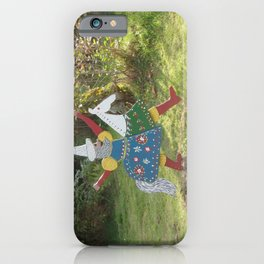 CRAZY HORSERIDER  iPhone Case