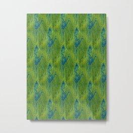 Tree Topology Metal Print