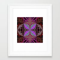 tiki Framed Art Prints featuring Tiki  by Lyn Wiegand