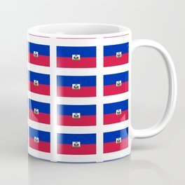 Flag of Haiti-haitan,haitien,port aux princes,cap haitien,carrefour,antilles. Coffee Mug