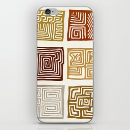African Ceremonial Pattern iPhone Skin