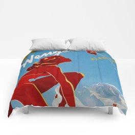 Wengen Switzerland - Vintage Travel Comforters