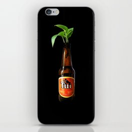 have a beer, have a plant! iPhone Skin