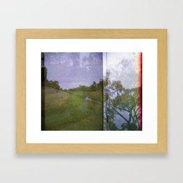 River runs through it Framed Art Print
