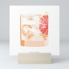 Cocktail Hour: Paloma Mini Art Print