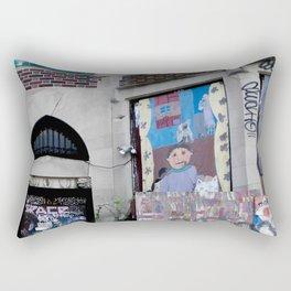 Graffiti and Ivy, Boston Rectangular Pillow