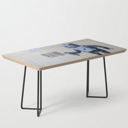 Banksy Robot (Coney Island, NYC) Coffee Table