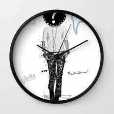 Just be Yourself Wall Clock
