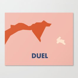 Don't Fuck with Nature: Duel (Season 1, Episode 2) Canvas Print