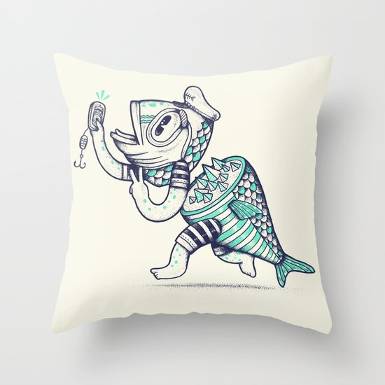 Selfishy Throw Pillow