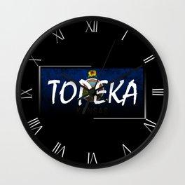 Topeka Wall Clock