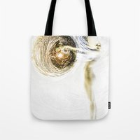 boobs Tote Bags featuring Boobs by ChiTreeSign