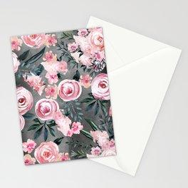 Night Rose Garden Stationery Cards