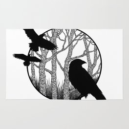 Black Birds II Rug