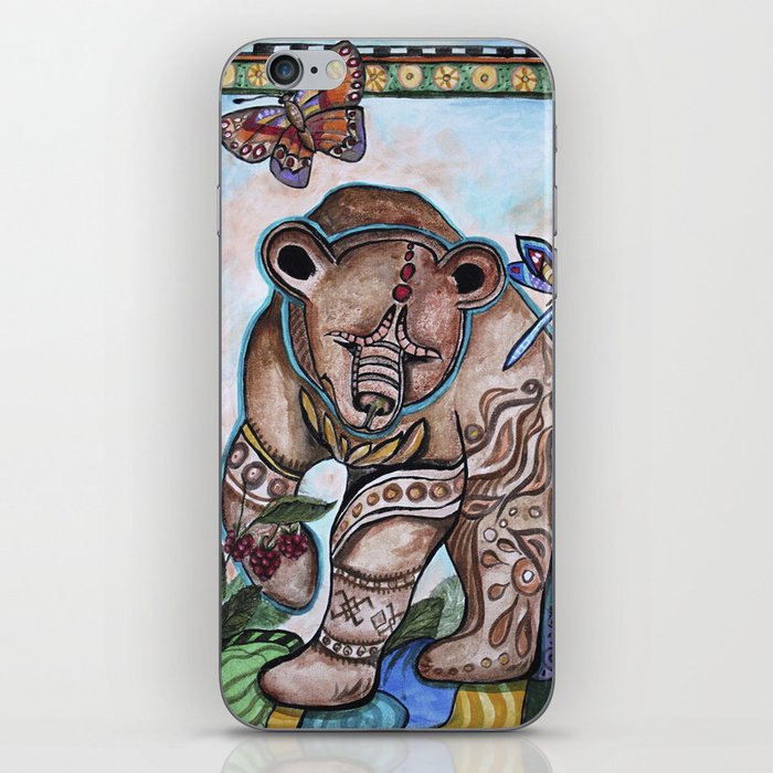 Siberian bear iPhone Skin