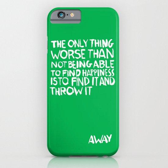 ...Away (Vers. 2) iPhone & iPod Case
