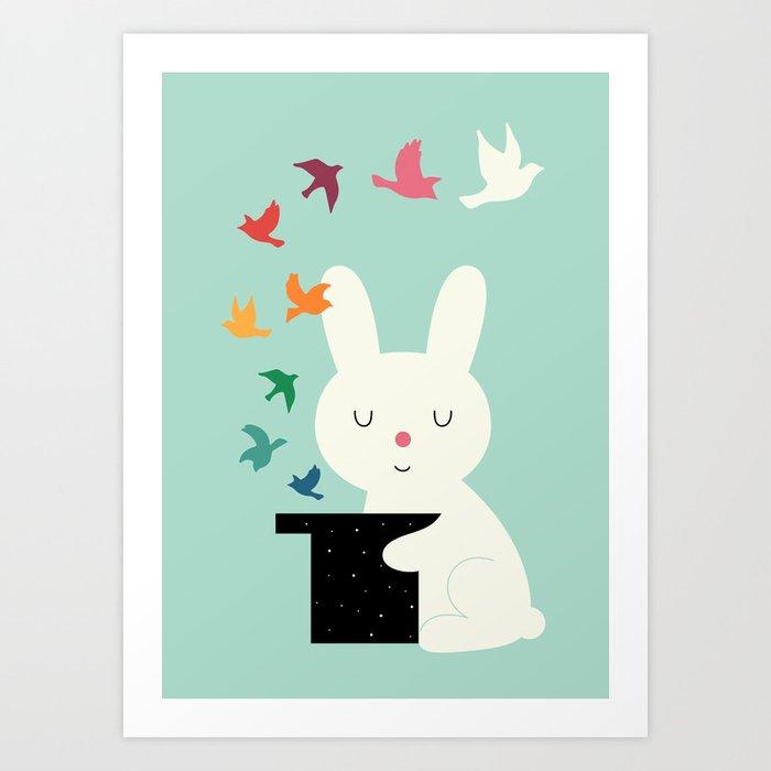 Magic Of Peace Art Print