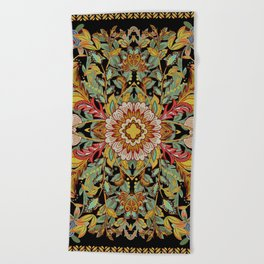 Dance Between Fire Now! Beach Towel