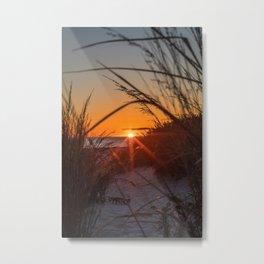 Descending Light Metal Print
