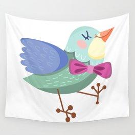 Cute Bird Wall Tapestry