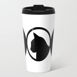 Black Cat Society II Travel Mug