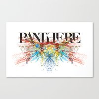 panther Canvas Prints featuring Panther by Raphaël