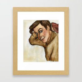 Will Rogers Framed Art Print