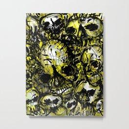 calaveras y diablitos Metal Print