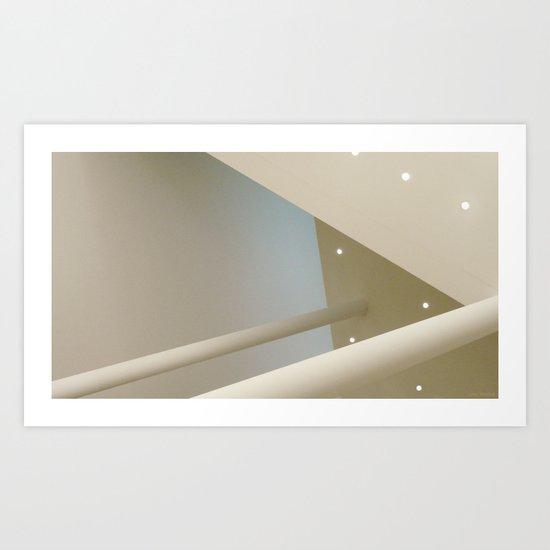 above #6 Art Print