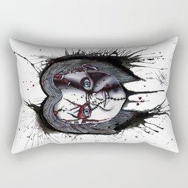 The Horror of Chucky  Rectangular Pillow